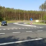 Skrzyżowanie na drodze gminnej łączącej Bydgoski Park Przemysłowy z DK nr 10